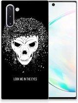 Silicone Back Case Samsung Galaxy Note 10 Skull Hair