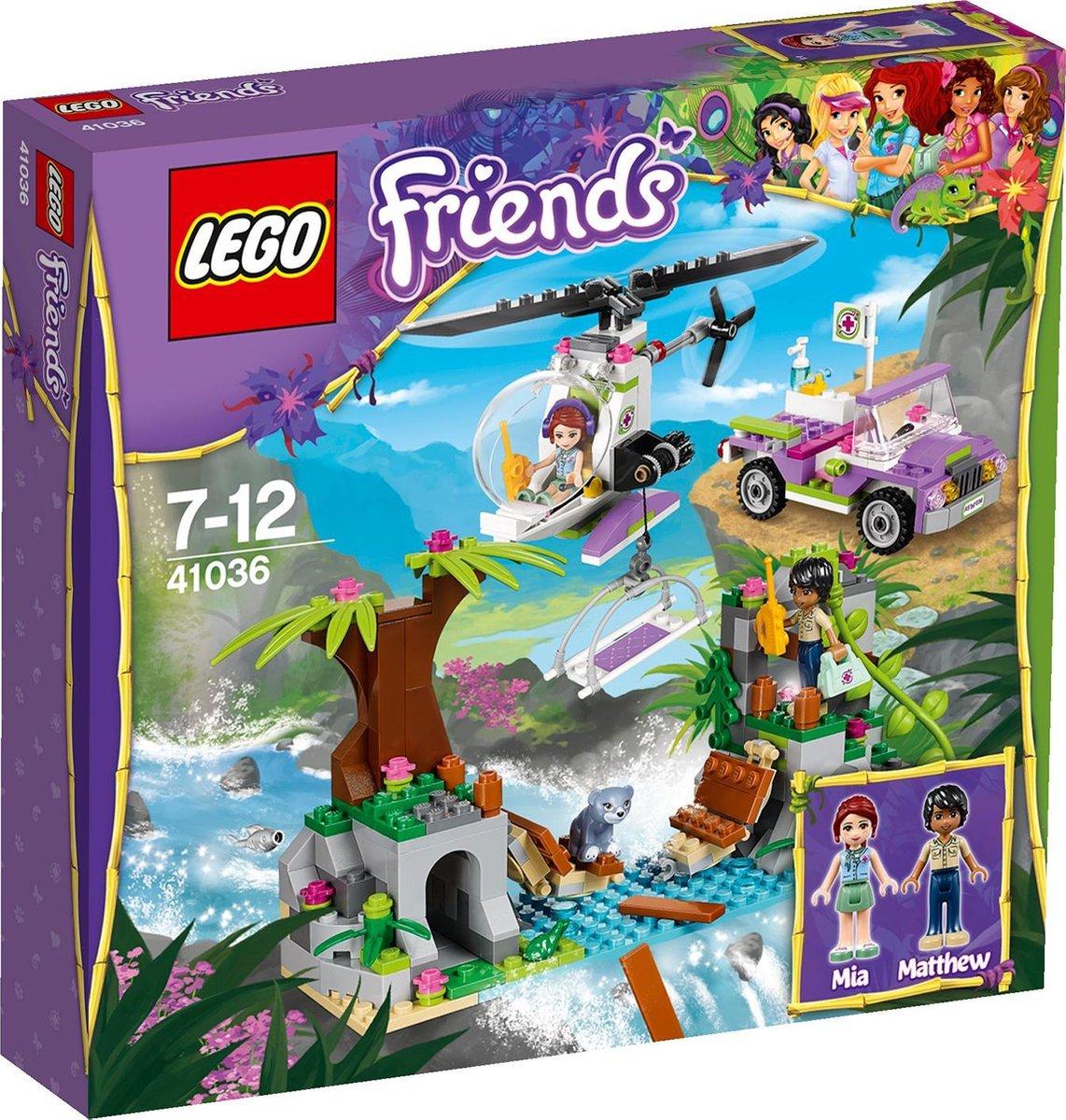 LEGO Friends Junglebrug Reddingsactie - 41036