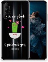 Honor 20 | Huawei Nova 5T Telefoonhoesje met Naam Cactus Glad