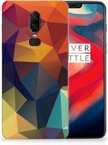 TPU Hoesje OnePlus 6 Polygon Color