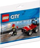 LEGO City Brandweer Quad - 30361 (Polybag)