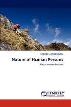 Nature of Human Persons