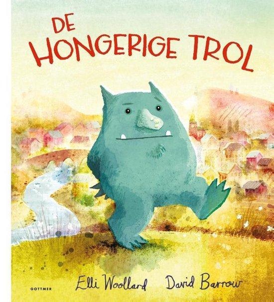 Boek cover De hongerige trol van Elli Woollard (Hardcover)