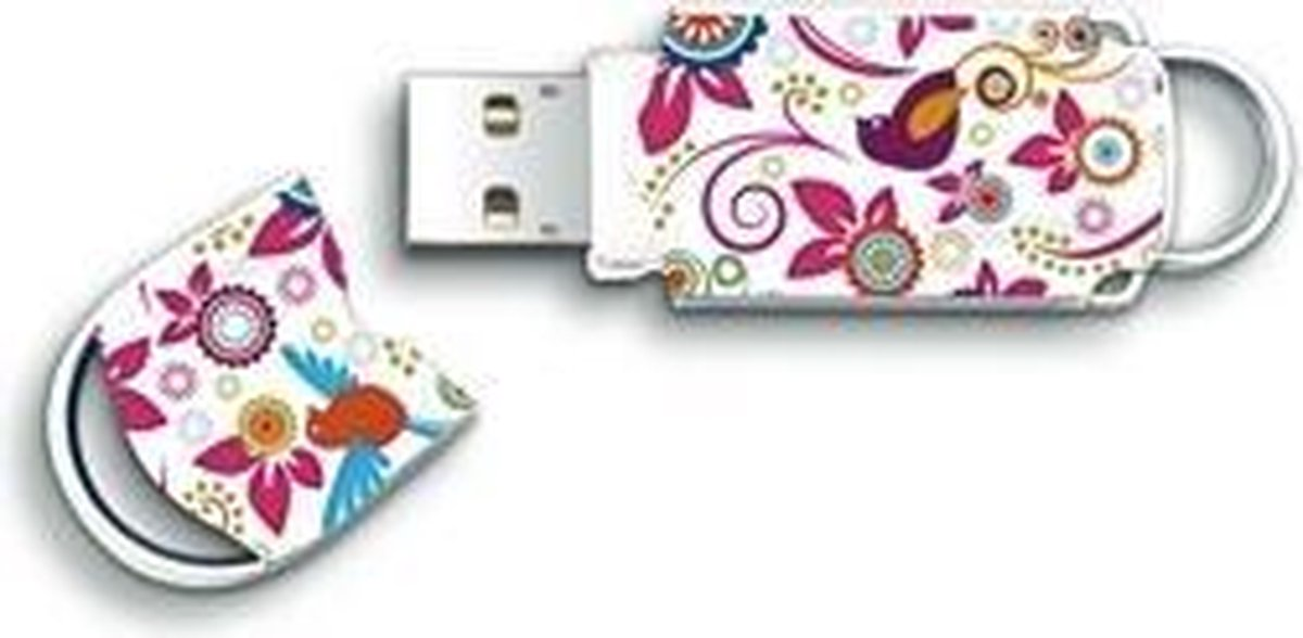 Integral Floral - USB-stick - 16 GB - Integral