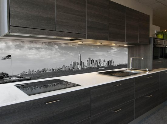 Verwonderend bol.com   Keuken spatwand behang: -Manhattan NYC- 400x70cm LA-24
