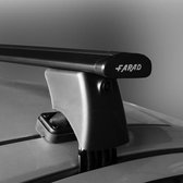 Dakdragers Bmw X1 SUV 2009 t/m 2015 - Farad wingbar zwart