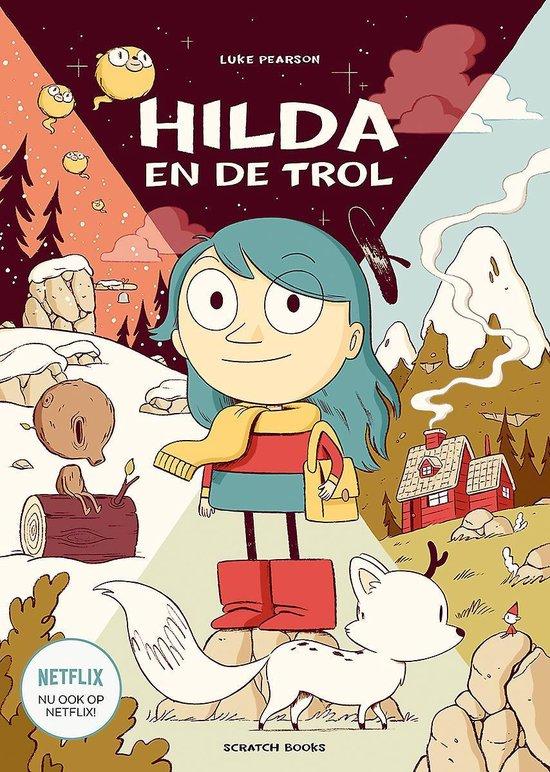 Hilda 1 - Hilda en de trol - Luke Pearson |