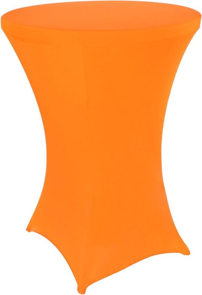 Statafelrok oranje 80 cm