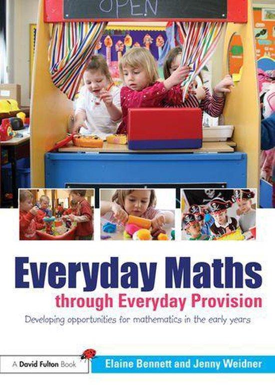 Omslag van Everyday Maths through Everyday Provision