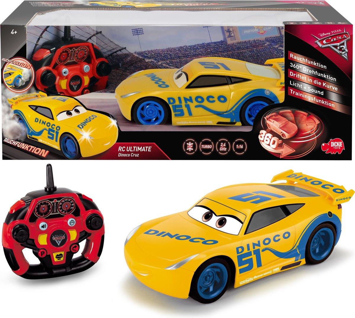 Cars 3 RC Ultimate Cruz Ramirez - 26cm - bestuurbare auto