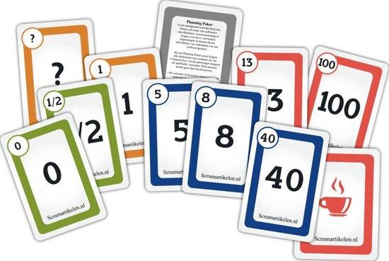 Afbeelding van het spel Scrum Planning Poker Kaarten Agile