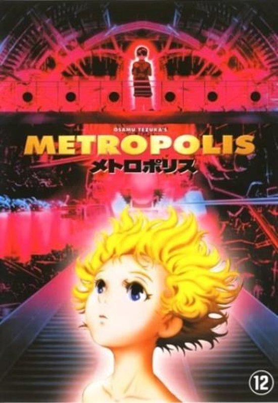 Cover van de film 'Metropolis'