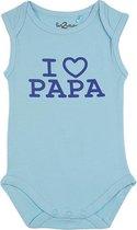Fun2Wear Romper love papa Petit Four maat 74