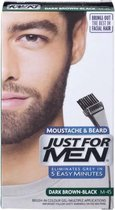 Just For Men Snor & Baard Verf Haarverf - Donker Bruin