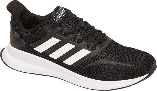 adidas Heren Zwarte Run Falcon - Maat 47 1/3