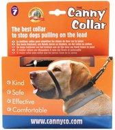Canny Collar Zwart NR 7 - 53-58 cm