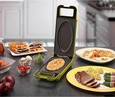 Cook It Groen Multigrill Express Cooker - Met draaifunctie - Contactgril