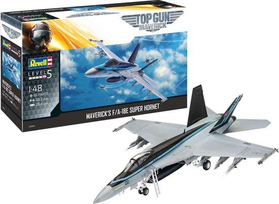 1:48 Revell 03864 Maverick's F/A-18E Super Hornet 'Top Gun: Maverick' Plastic kit