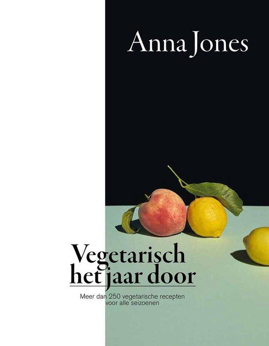 Boek cover Vegetarisch het jaar door van Anna Jones (Hardcover)