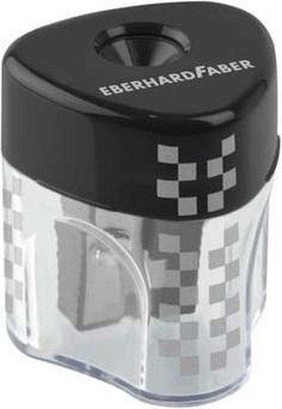 Afbeelding van puntenslijper Eberhard Faber Mini Winner enkel met kunststof opvangbakje EF-585131