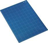 snijmat Westcott A2 blauw 3-lagig 600x450mm, zelfherstellend