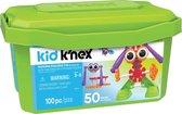 Kid K'NEX Opbergdoos - Budding Builders Tub - Bouwset - 100 onderdelen
