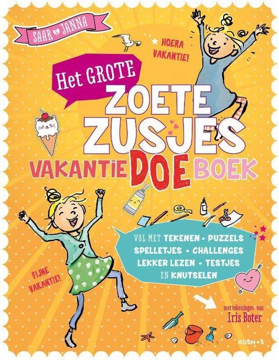 Boek cover Het grote Zoete Zusjes vakantiedoeboek van Hanneke de Zoete (Paperback)