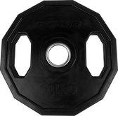 Tunturi Olympische Halterschijf - Halter gewichten - 1x 10 kg - 50mm - Rubber