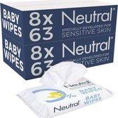 Neutral 0% Baby Billendoekjes 16 x 63 stuks - 1008 stuks - parfumvrij