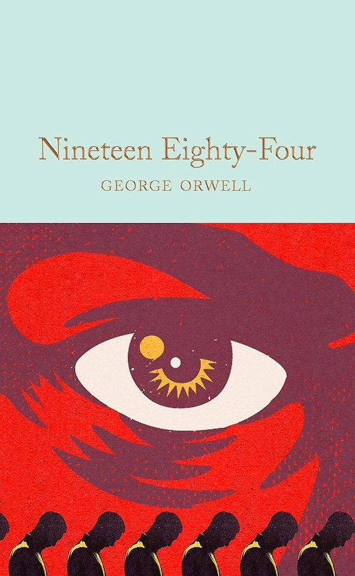 Boek cover Nineteen Eighty-Four van George Orwell (Hardcover)
