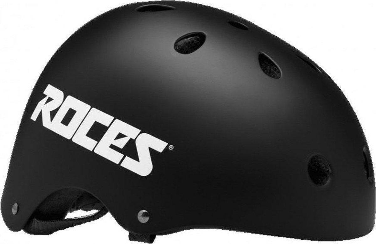ROCES Helm Unisex AGGRESSIVE - Zwart 48-52cm (S)