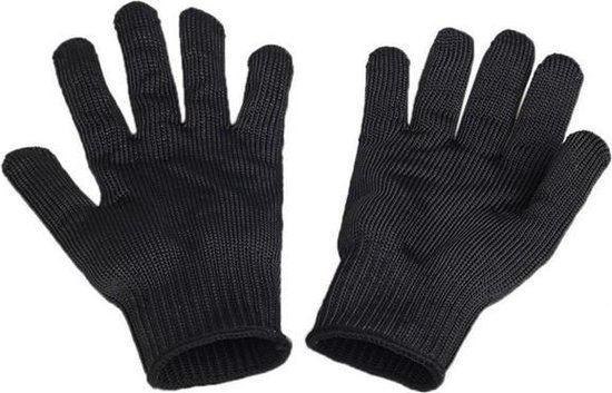 Kinetic Cut Resistant Glove - Fileerhandschoen - Zwart