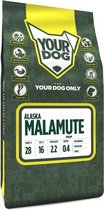 Pup 3 kg Yourdog alaska malamute hondenvoer
