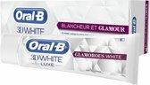 Oral B Tandpasta 3D white luxe glamoureus wit - 75ml