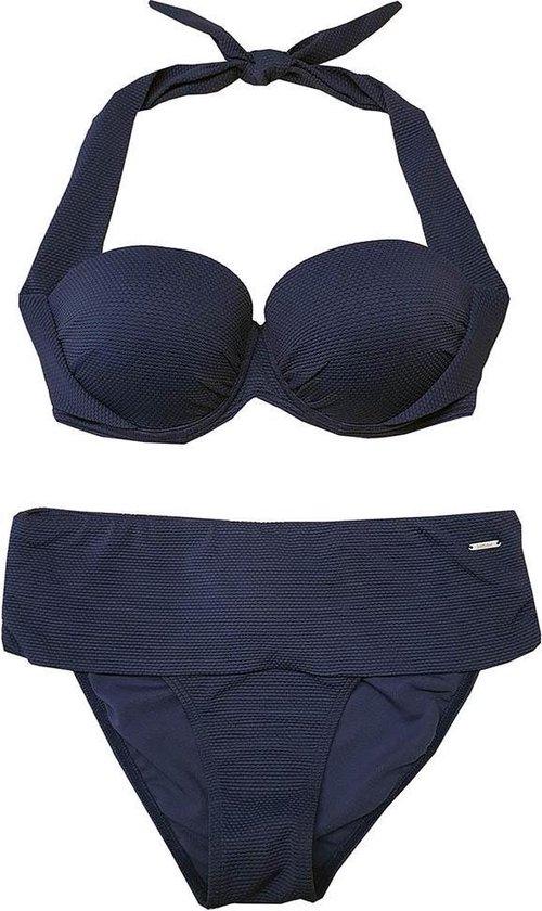 BOMAIN ZANZIBAR Jeans Blue Structuur Balconette Bikini