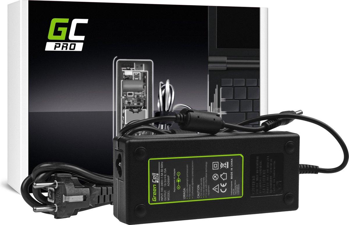 GreenCell PRO 19.5V 6.15A 120W für Lenovo IdeaPad Y510p Y550p Y560 Y570 Y580 Z500 Z570 MSI GE60 GE70 GP70