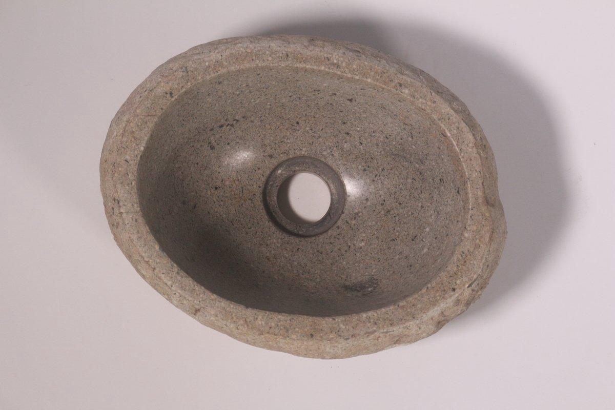 Natuurstenen waskom | DEVI-W21-293 | 23x30x12