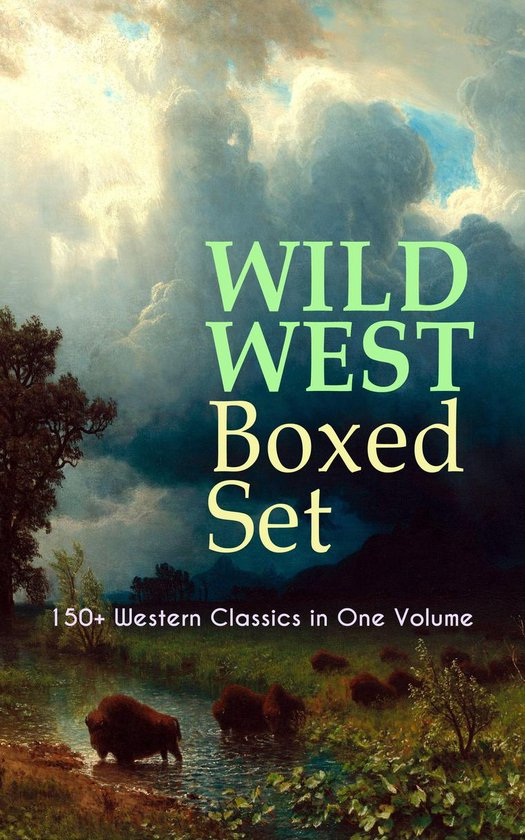 Boek cover WILD WEST Boxed Set: 150+ Western Classics in One Volume van Zane Grey (Onbekend)