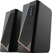 GXT 609 Zoxa - Speakerset - 2.0 - RGB verlichting - Zwart