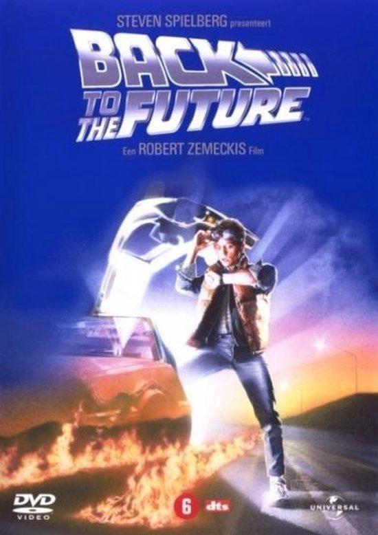 Cover van de film 'Back To The Future 1'