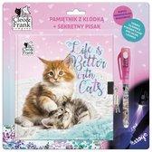 Cleo & Frank Dagboek Kitten met Slotje en Onzichtbare Inkt Pen