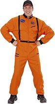 Science Fiction & Space Kostuum | Amerikaanse Astronaut Oranje | Man | Medium | Carnaval kostuum | Verkleedkleding