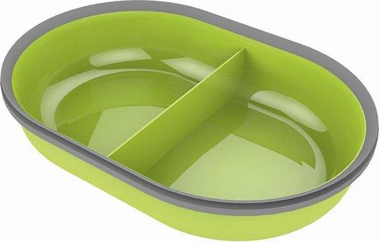 Surefeed Dubbele Voerbak Voor De Microchip Pet Feeder - Groen 1 st