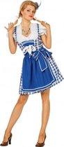 Oktoberfest jurk sexy blauw 42 (xl)