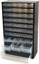 Raaco - Metalen ladekast - Met 44 laden - Incl. 10 tussenschotten