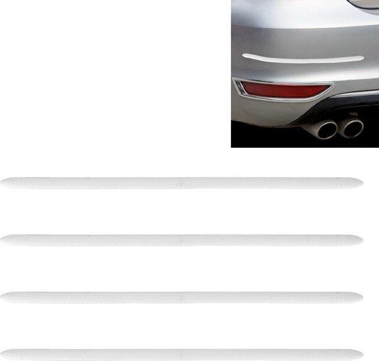 4 stuks auto-styling willekeurige decoratieve sticker (wit)