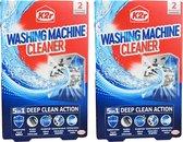 k2r Wasmachine reiniger 2x2 behangelingen 5 in1 diepe reiniging actie