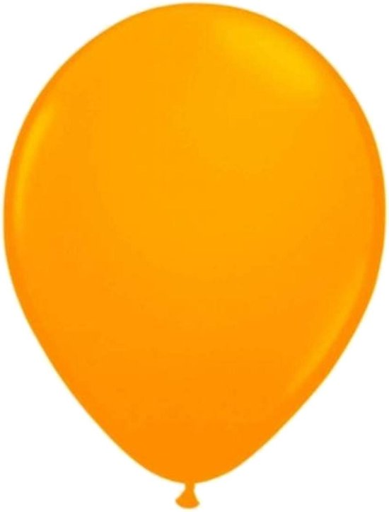 Ballonnen - Oranje - Fluor / neon - 30cm - 8st.