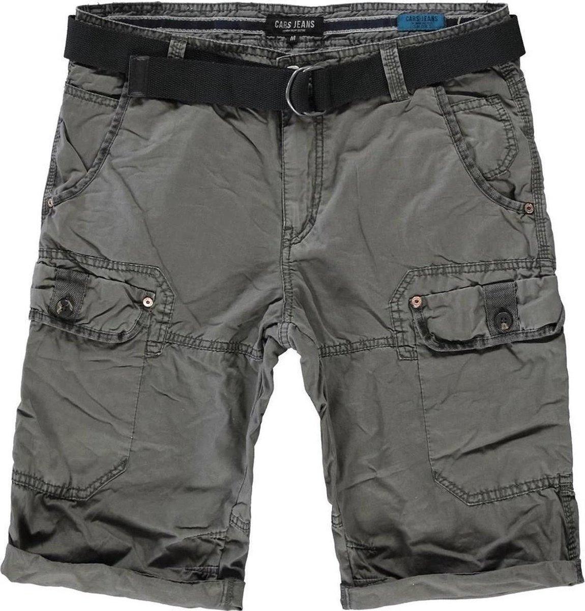 Cars Jeans - RANDOM Short Cotton - Antra - Mannen - Maat XL