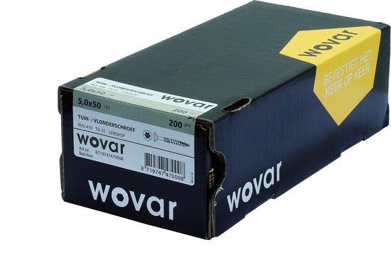 Wovar Vlonderschroeven RVS 410 5 x 50 mm Torx 25